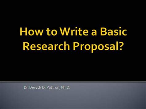 Position paper writing ppt